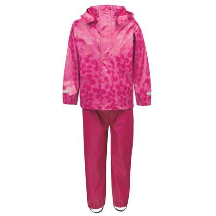 TICKET TO HEAVEN Regenanzug Gummi 2-tlg., mit abnehmbarer Kapuze, pink