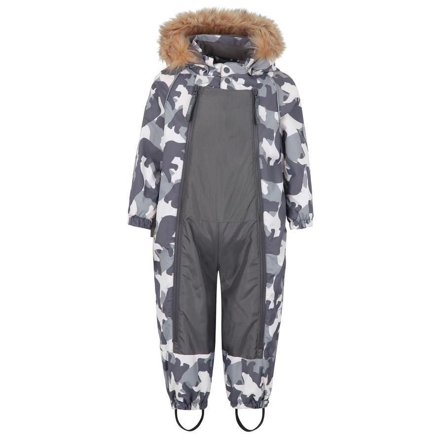 TICKET TO HEAVEN Mono de nieve Baggie Finn con capucha desmontable, gris