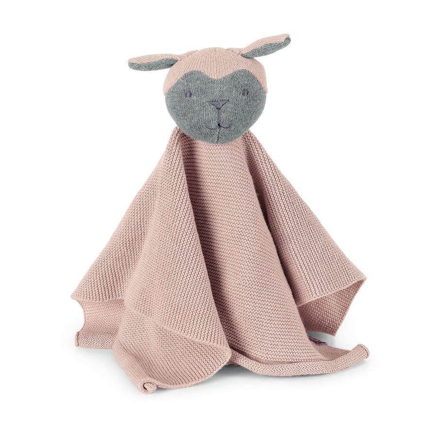 Sterntaler Doudou in maglia S Pecora rosa