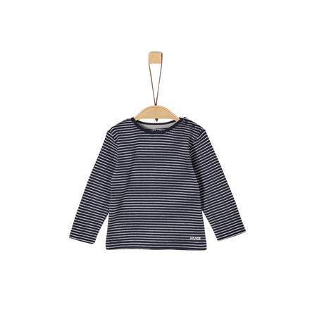 s.Oliver Boys shirt met lange mouwen blue