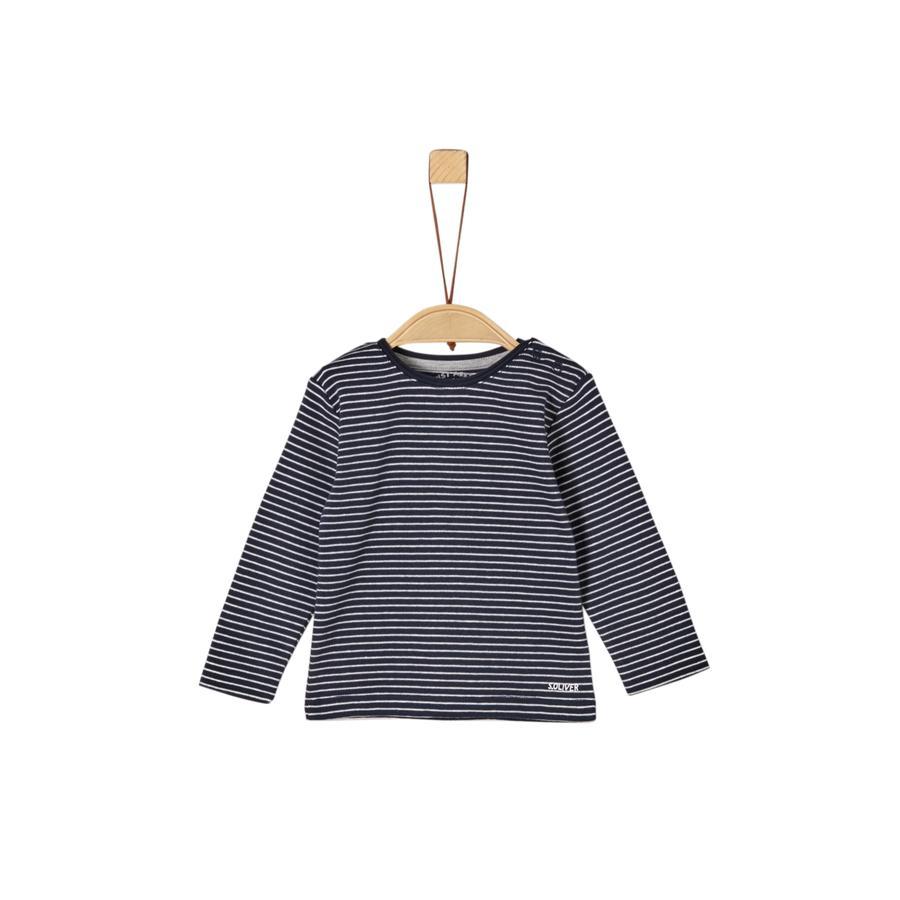 s. Olive r Camisa de manga larga azul para chicos