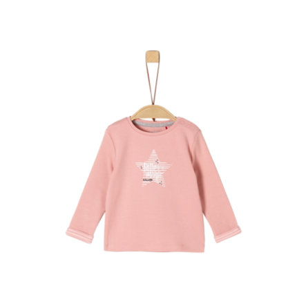 s. Olive r Girls Lange mouw shirt mellow roos