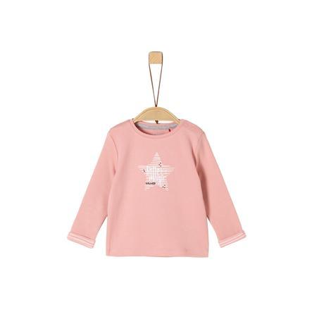 s.Oliver Girls Langermet skjorte mild rose