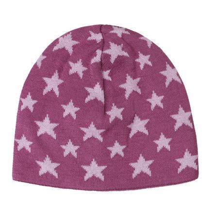 TICKET TO HEAVEN Strickmütze, pink mit Sternen