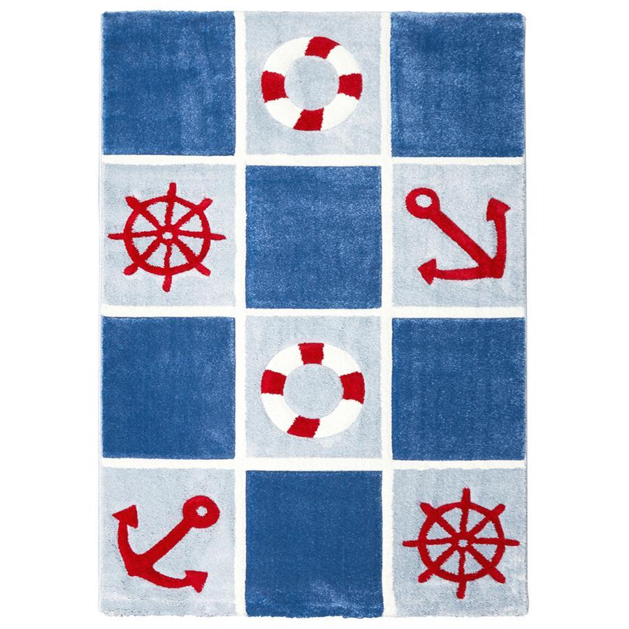 LIVONE play a dětský koberec Kids Love Rugs Na volném moři 3, 160 x 220