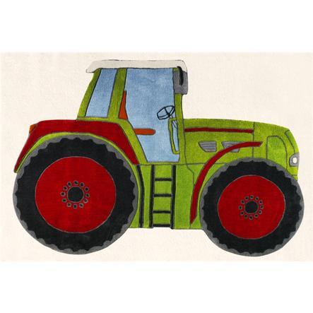 LIVONE Tapijt Happy Rugs Traktor, groen 120 x 180 cm