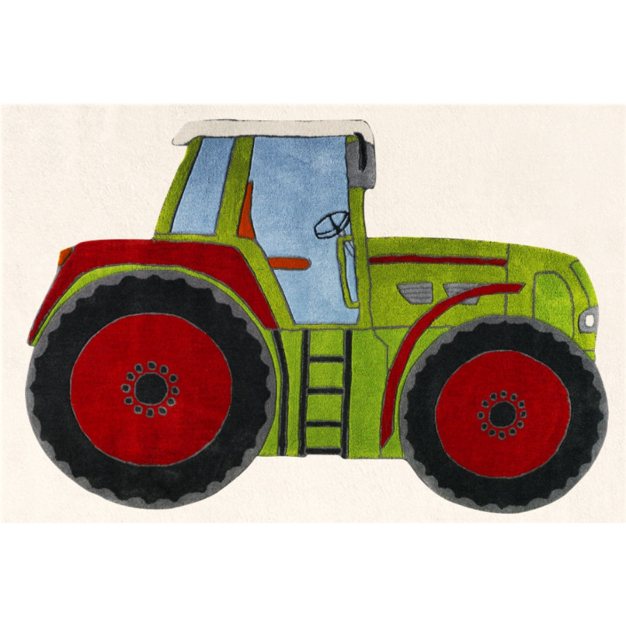 LIVONE Spiel- und Kinderteppich Kids Love Rugs Traktor, 120 x 180 cm