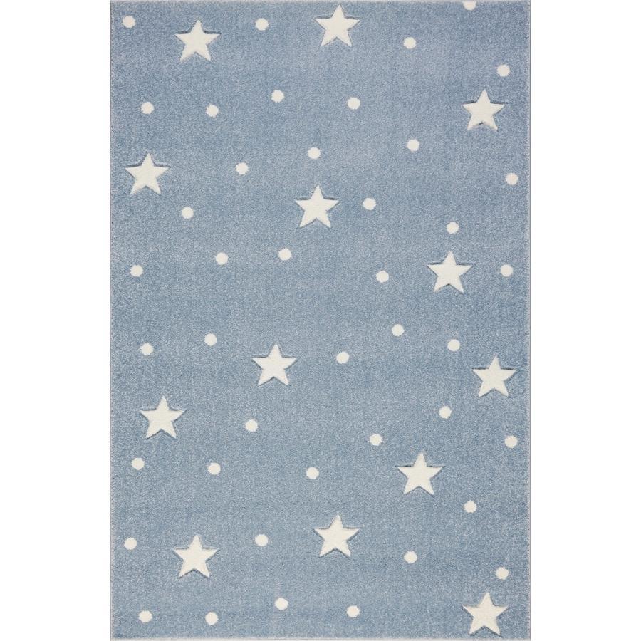 LIVONE Tapijt Kids Love Rugs Heaven blauw/wit 120 x 170 cm