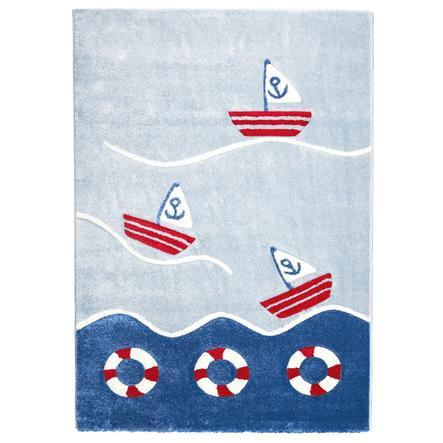 Juego LIVONE y alfombra infantil Los niños aman las alfombras en alta mar 2, 120 x 170 cm
