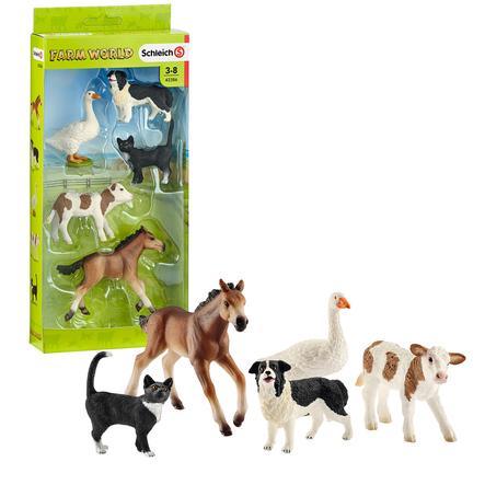 Schleich Farm World- Tier-Mix Set 42386