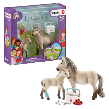 SCHLEICH Cavallo CLUB islandese PONY Stallion Animale Figura Nuovo