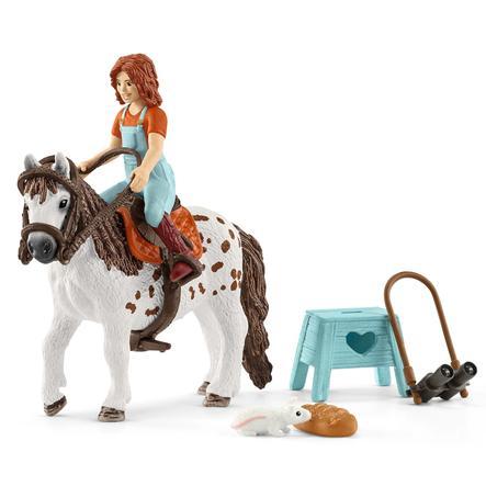 Schleich Figurine cavalière Mia et Spotty Horse Club 42518