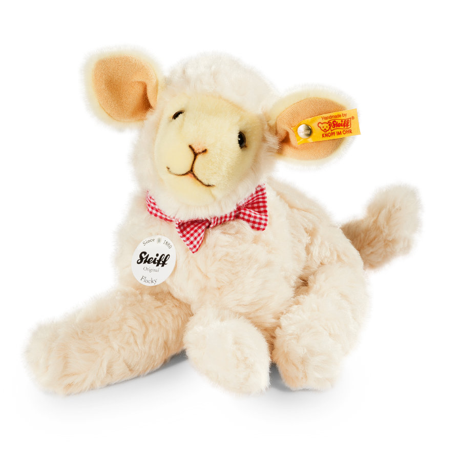 STEIFF Flocky Lamb 24 cm cream