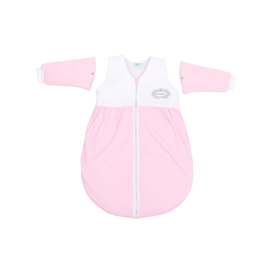 fillikid Schlafsack Jersey Princess mit abnehmbaren Arm rosa