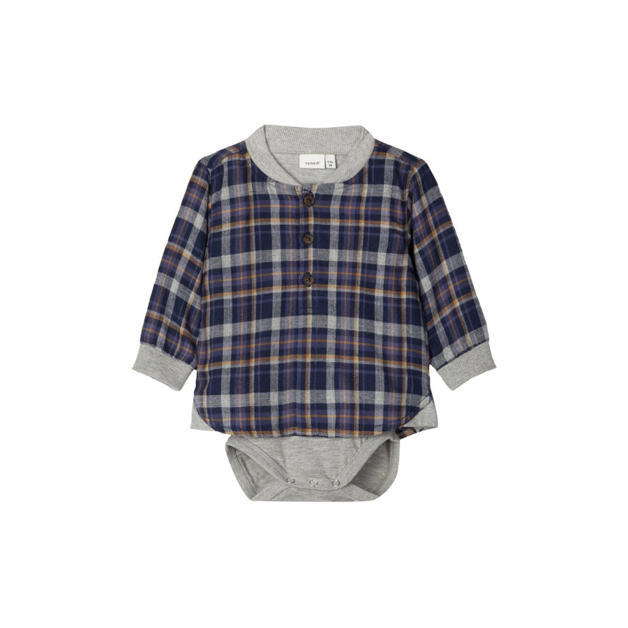name it Camisa de niño NBMOJOHN zafiro oscuro
