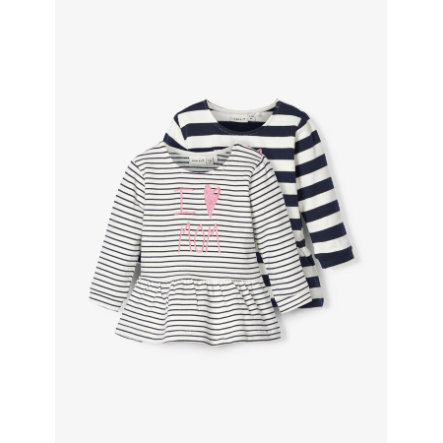 name it Sweatshirt-pack med 2 NBFOLSINE mörk safir