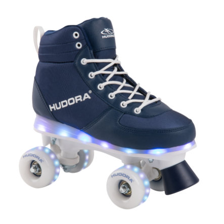 HUDORA® Roller Skates Advanced, navy  LED