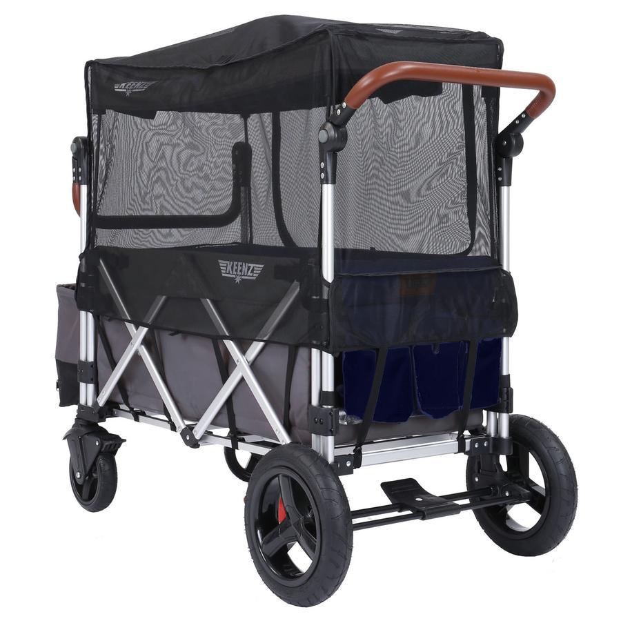 KEENZ 7S Moustiquaire pour chariot enfant, noir