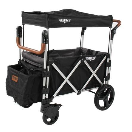 KEENZ 7S Wózek transportowy dla dzieci black