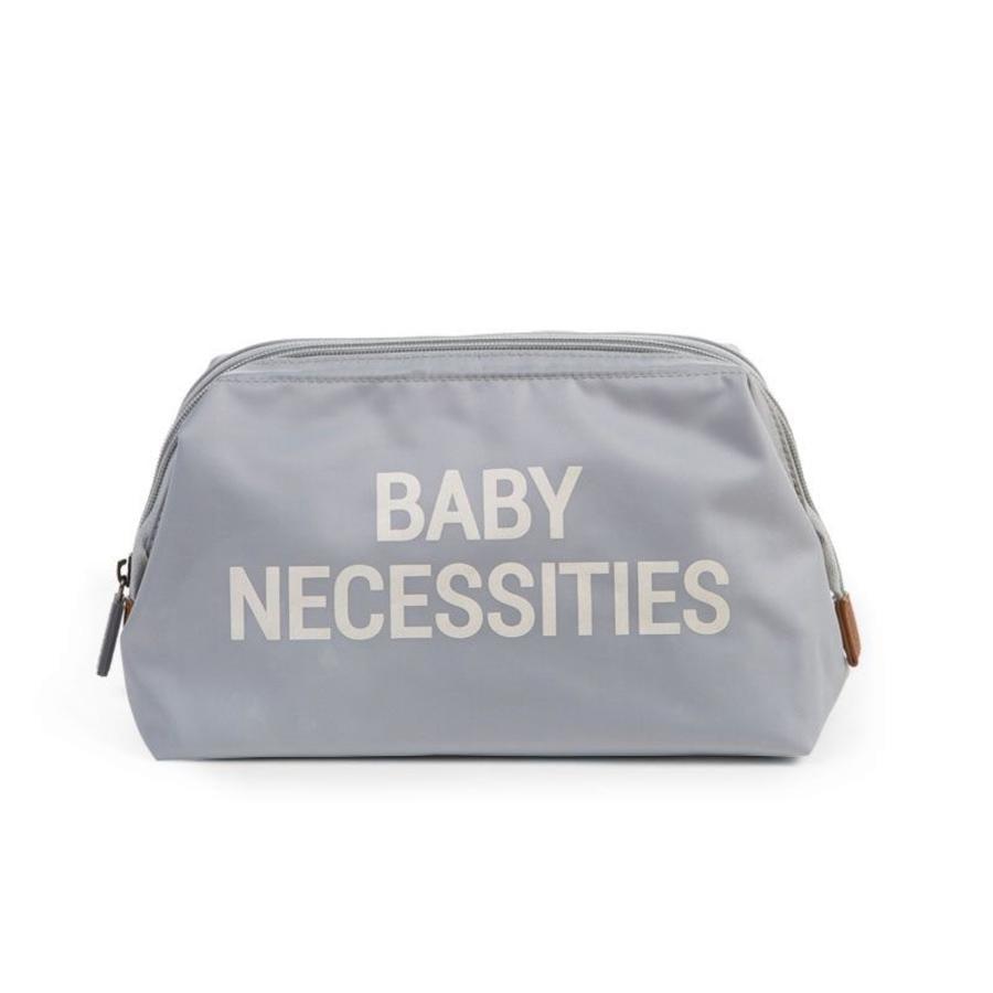 CHILDHOME Baby Necessities Kulturbeutel grau