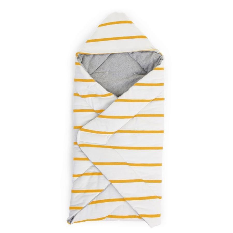 CHILDHOME Wickeldecke universal Ochre Stripes