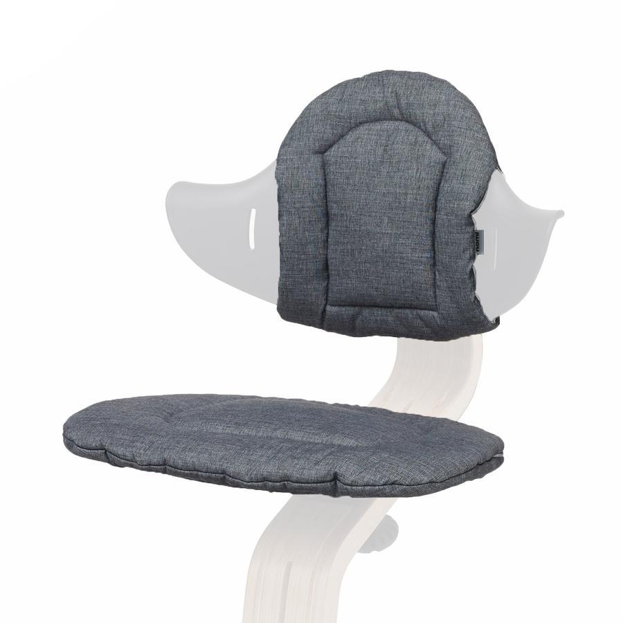 nomi by evomove Polštářky k židličce dark grey/sand