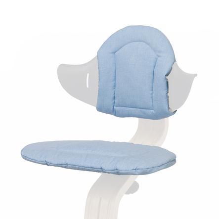 nomi by evomove Polštářky k židličce Pale blue/sand