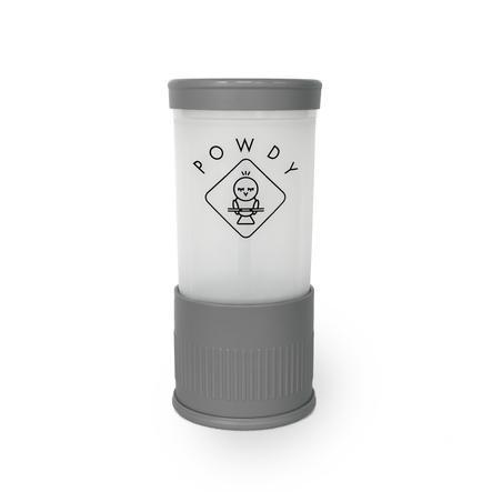 POWDY Melkpoederverdeler met verwisselbare inzetstukken grijs
