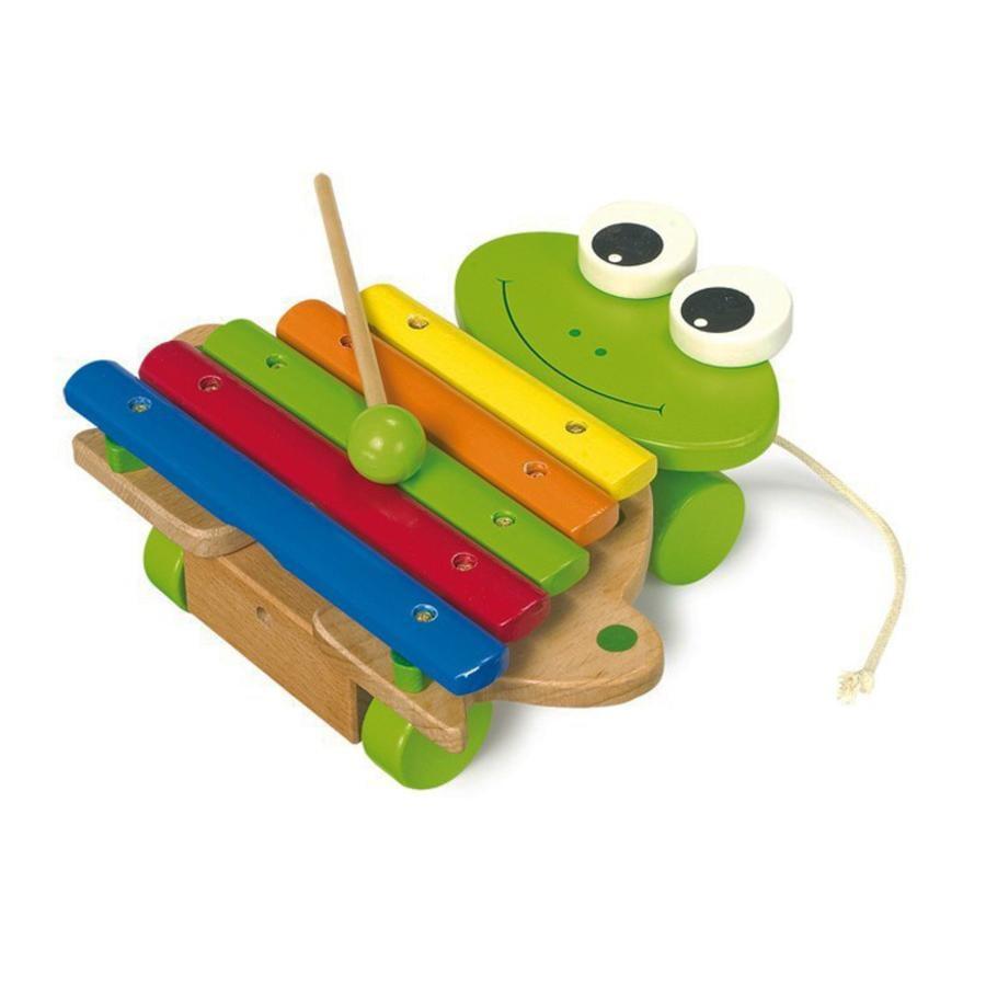 LEGLER Xylofon žabka