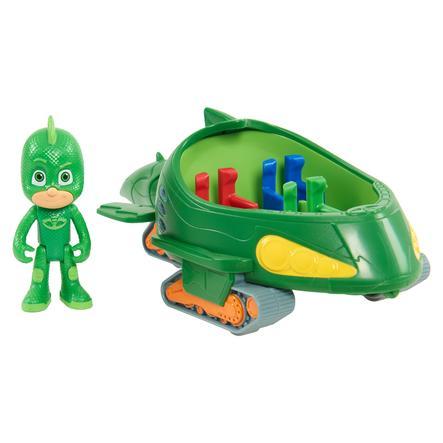 Simba PJ Masks Gecko z pojazdem