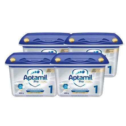 Aptamil Anfangsmilch Profutura 1 4  x 800 g ab der Geburt