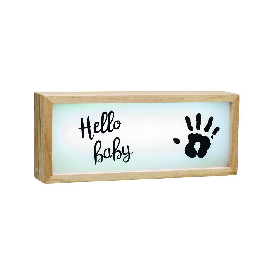 Baby Art Lysboks av tre - Lysboks med im-trykk