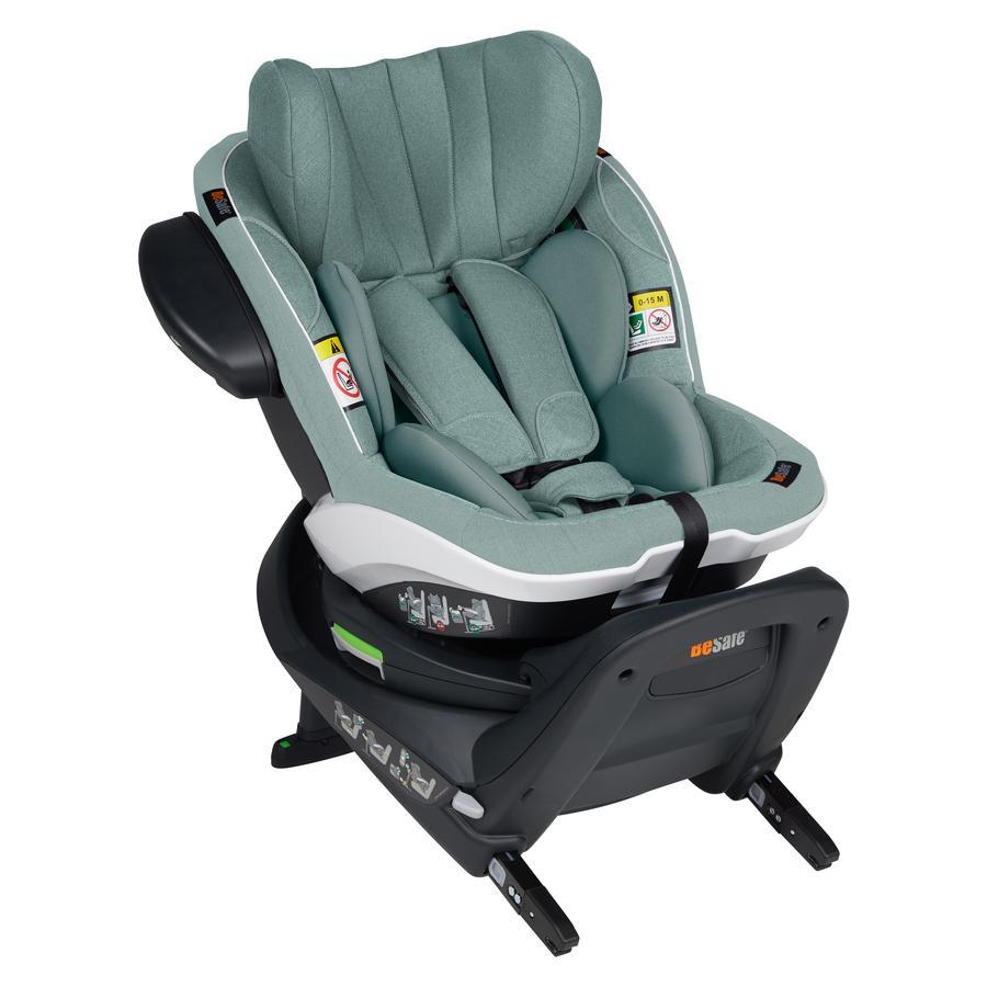 BeSafe Kindersitz iZi Turn i-Size Sea Green Mélange