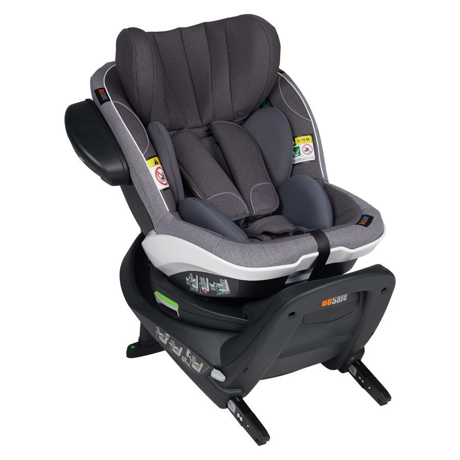 BeSafe Kindersitz iZi Turn i-Size Metallic Mélange