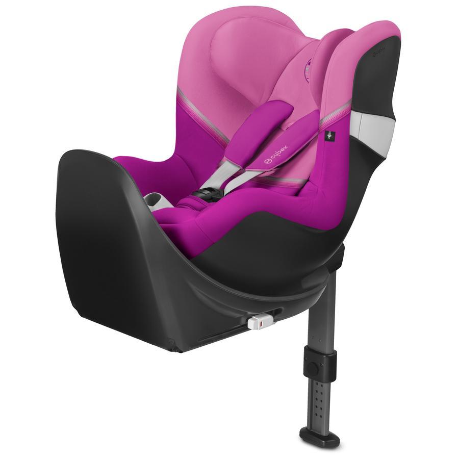 cybex GOLD Kindersitz Sirona M2 i-Size mit Base M Magnolia Pink