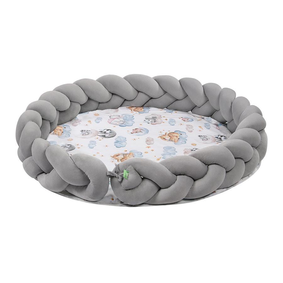 LULANDO Art Collection Flettet kravletæppe Velvet Sleepy