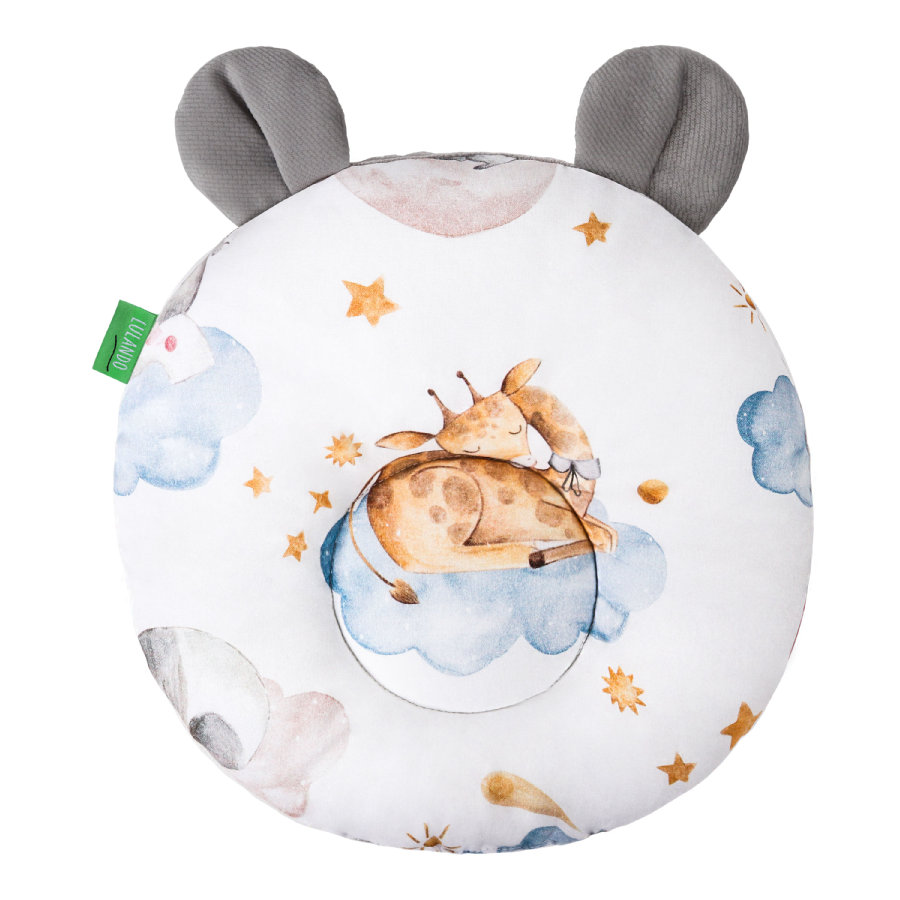 LULANDO Art Collection Kussen Teddybeer Sleepy