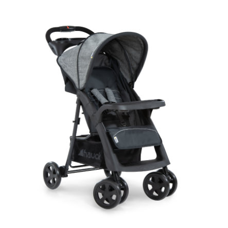 hauck Buggy Shopper Neo II Melange Grey/Charcoal