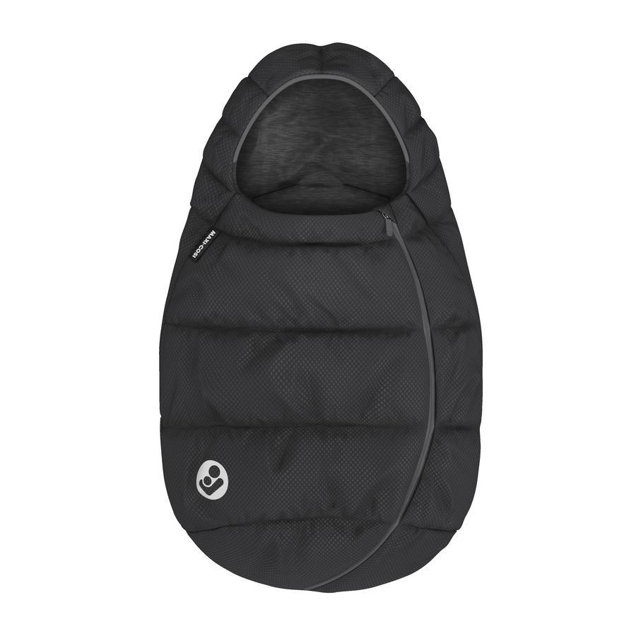 MAXI COSI Lämpöpussi lastenistuimille Essential Black
