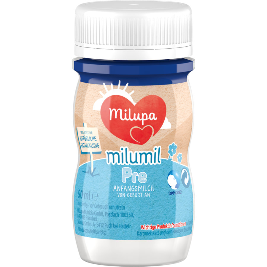 Milupa Anfangsmilch Milumil Pre trinkfertig 90 ml ab der Geburt