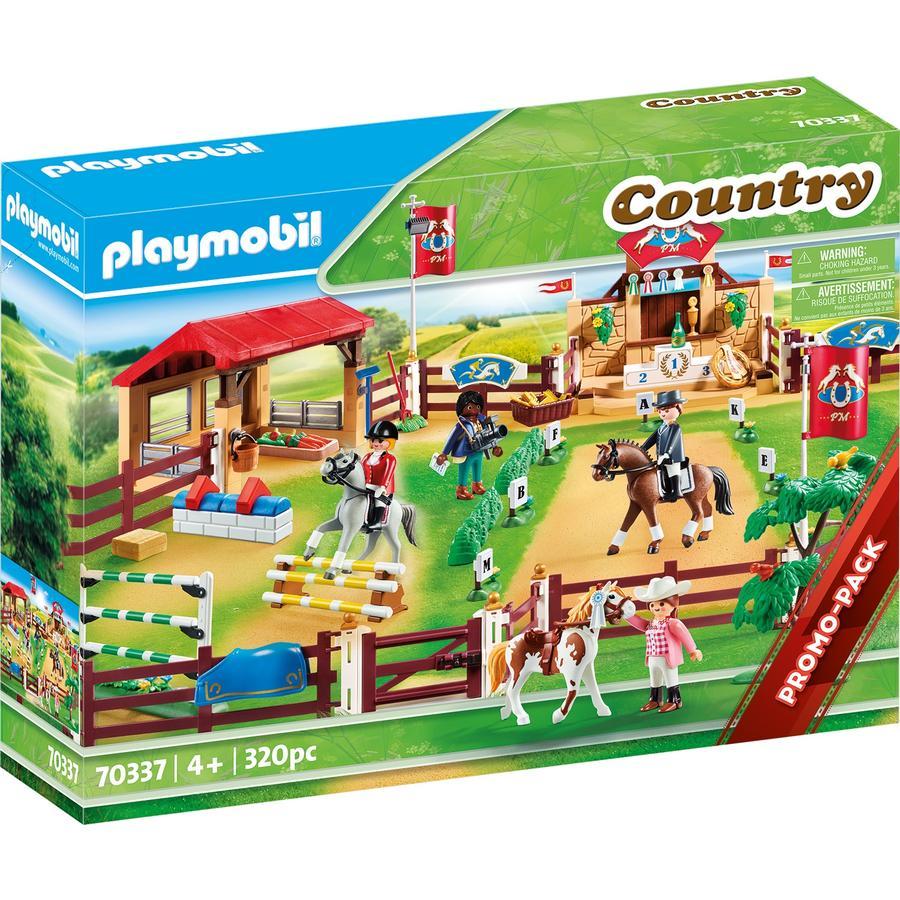 PLAYMOBIL® Country Figurine centre d'entraînement équestre 70337
