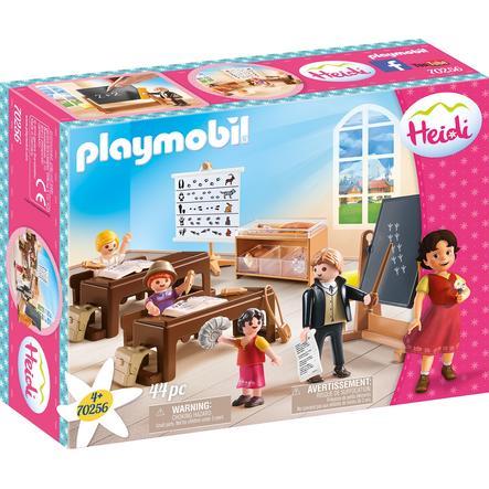 PLAYMOBIL ® Heidi skoletimer i Dörfli 70256
