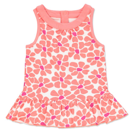 anna & tom Girls Sukienka Flamingo flower print