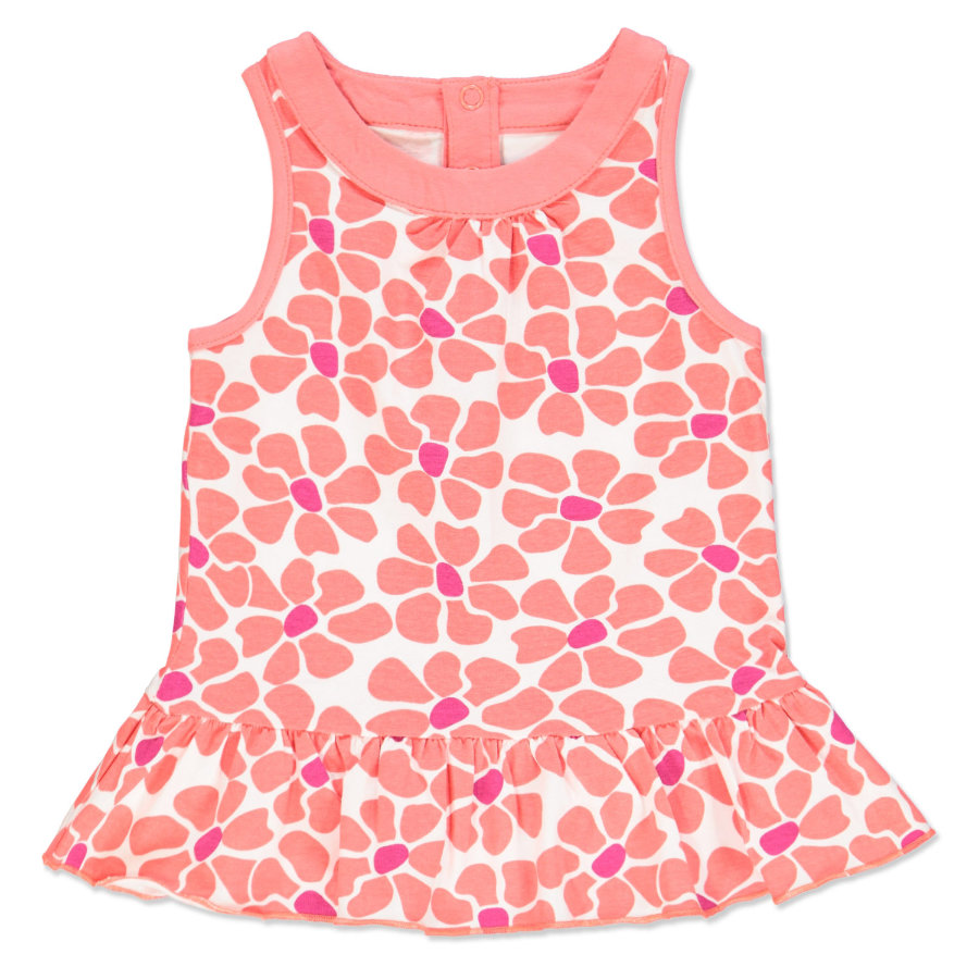 anna & tom Girls Jurk - Flamingo flower