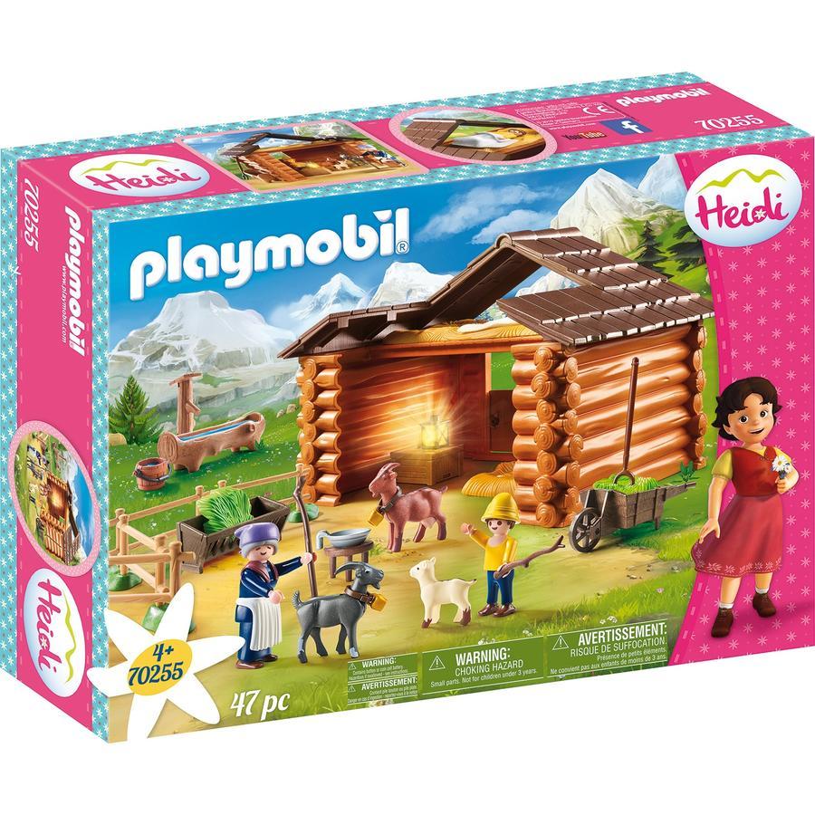 PLAYMOBIL® Heidi Peters Ziegenstall 70255