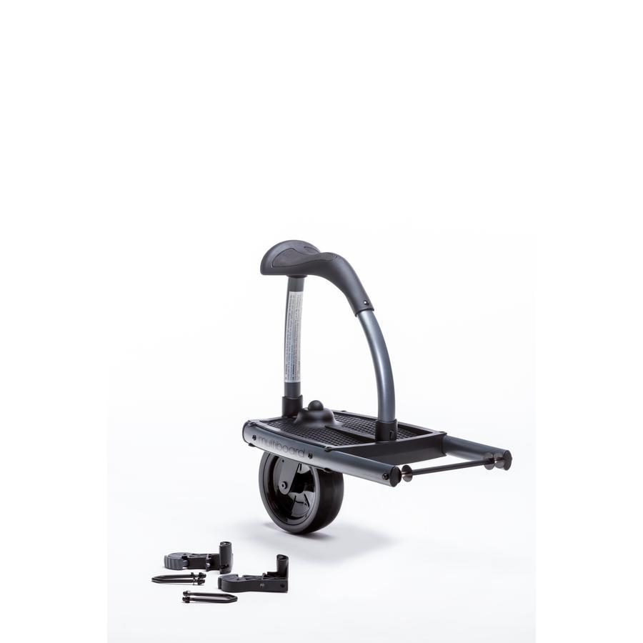 TFK Seisomalauta Multiboard rattaisiin Joggster ja Twin Modelle Cold Grey