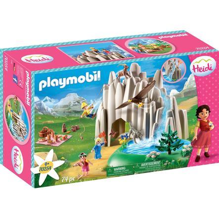 PLAYMOBIL ® Heidi Vid kristallsjön med Heidi, Peter och Clara 70254