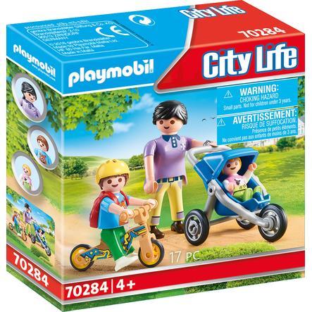 PLAYMOBIL ® City Life Mama s dětmi 70284
