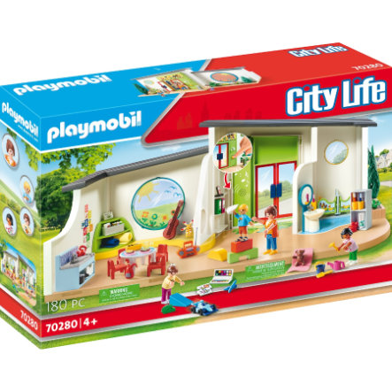 PLAYMOBIL® City Life Kinderdagverblijf De Regenboog 70280