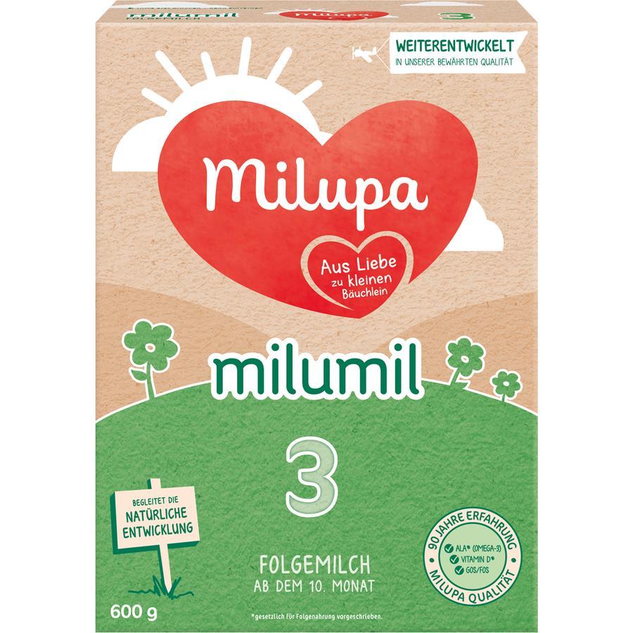 Milupa Folgemilch Milumil 3 600 g ab dem 10. Monat
